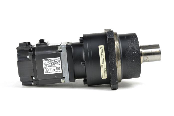 三菱 減速機付きサーボモータ HF-KP23G1K 1/20
