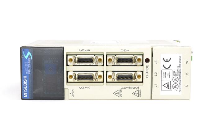 三菱 ACサーボアンプ MR-J2S-20B (電源ON累積時間38871h)