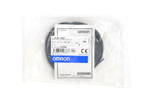 オムロン アンプ内蔵形光電センサ (小型) E3Z-R61
