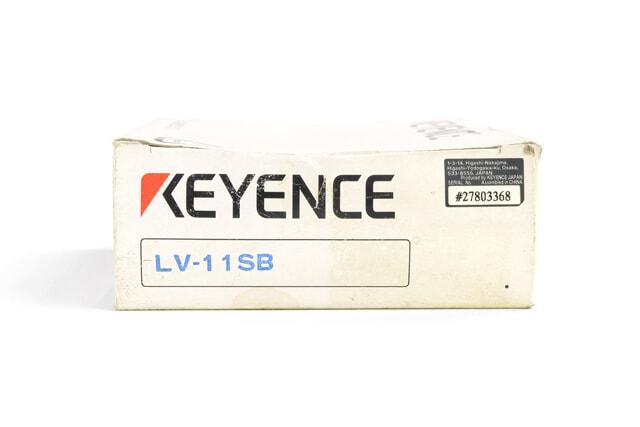 キーエンス 超小型デジタルレーザセンサアンプ LV-11SB