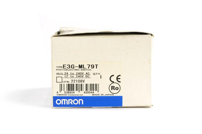 オムロン アンプ内蔵光電センサ (長距離) E3G-ML79T