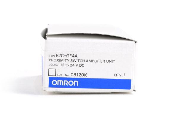 オムロン アンプ分離近接センサ(ボリウムタイプ) E2C-GF4A
