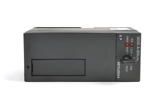 三菱 CPUユニット A1SHCPU (01年10月製・GP・割れ欠けあり)