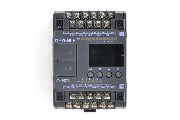 キーエンス プログラマブルコントローラ KV-16DT