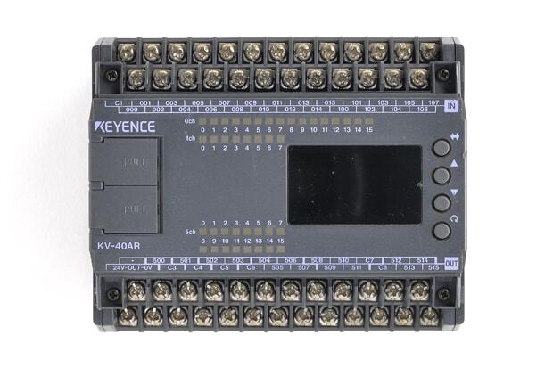 キーエンス プログラマブルコントローラ KV-40AR ※502、509出力不可