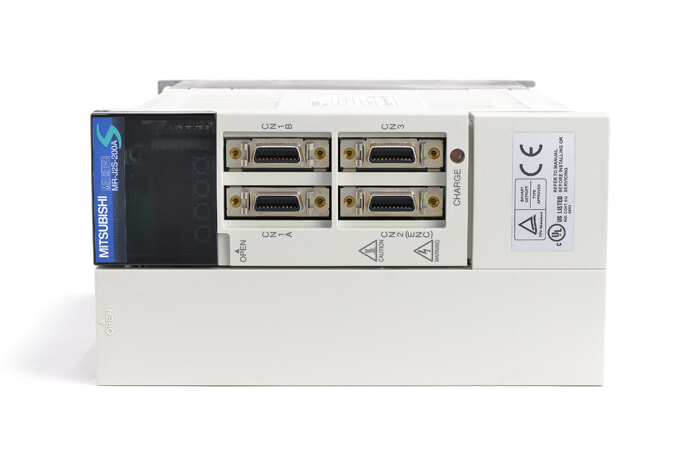 三菱 ACサーボアンプ MR-J2S-200A (電源ON累積時間89195h)