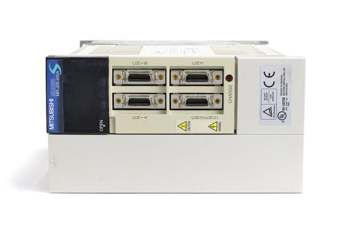 三菱 ACサーボアンプ MR-J2S-200A (電源ON累積時間24128h)