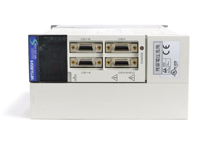 三菱 ACサーボアンプ MR-J2S-200B (電源ON累積時間23591h)