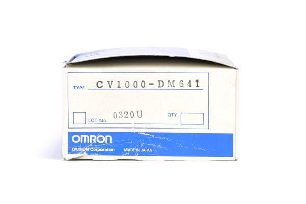オムロン 拡張データメモリユニット CV1000-DM641 (90年2月製)