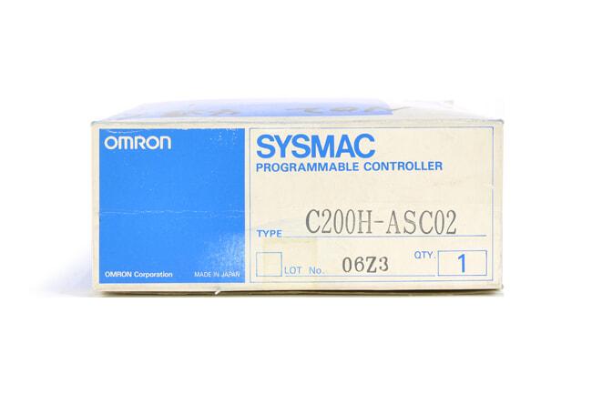 オムロン ASCIIユニット C200H-ASC02 (93年12月製)
