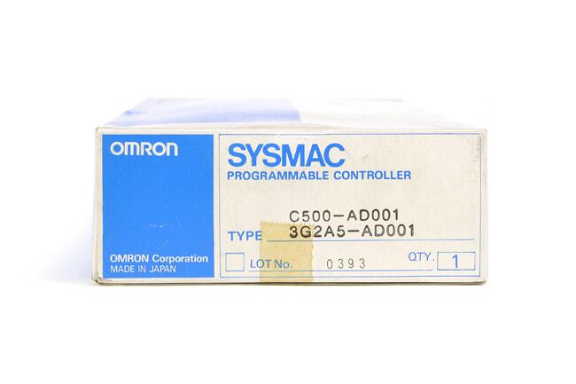 オムロン D/Aユニット C500-AD001 (93年9月・欠けあり)