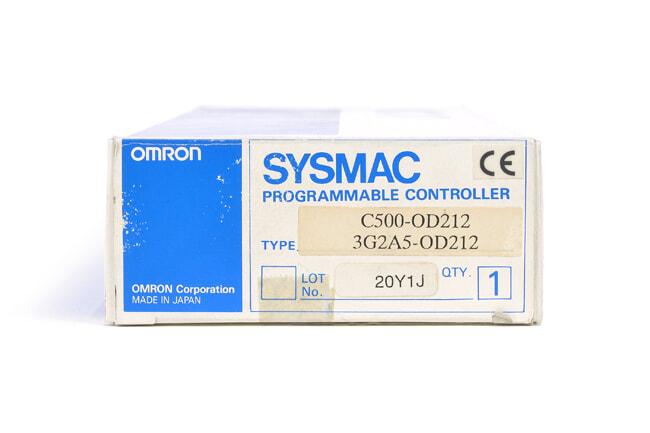 オムロン トランジスタ出力ユニット C500-OD212 (01年11月製)