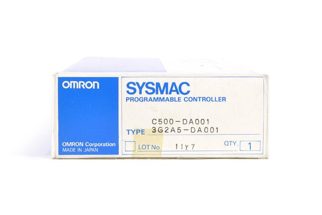 オムロン D/Aユニット C500-DA001 (97年11月・欠けあり)