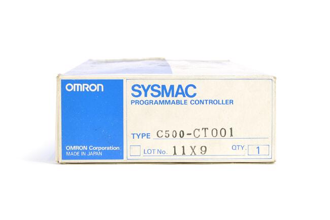 オムロン 高速カウンタユニット C500-CT001 (99年12月製)