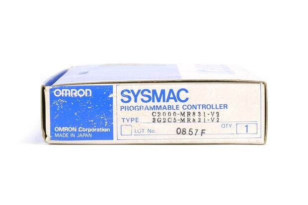オムロン メモリユニット C2000-MR831-V2 (97年5月製)