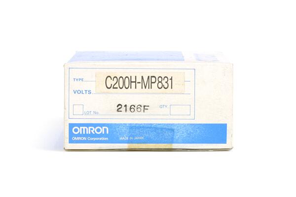 オムロン メモリユニット C200H-MP831 (96年6月製)