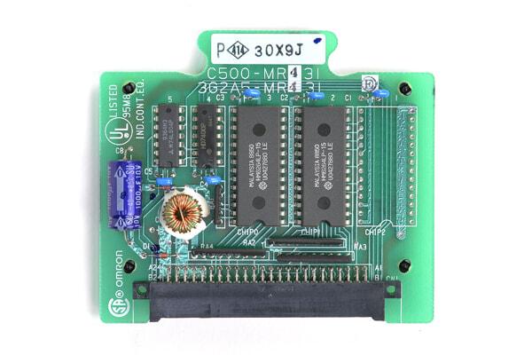 オムロン メモリユニット C500-MR431 (99年10月製)