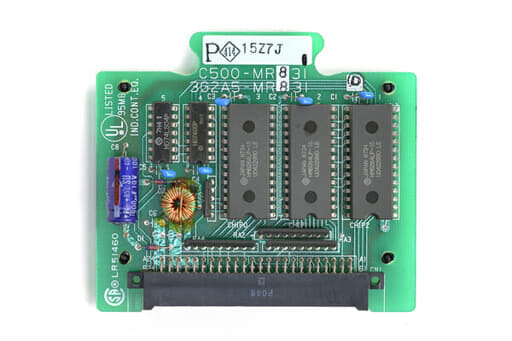 オムロン メモリユニット C500-MR831 (97年12月製)