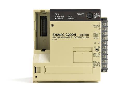 オムロン CPUユニット C200H-CPU01 (92年10月製)