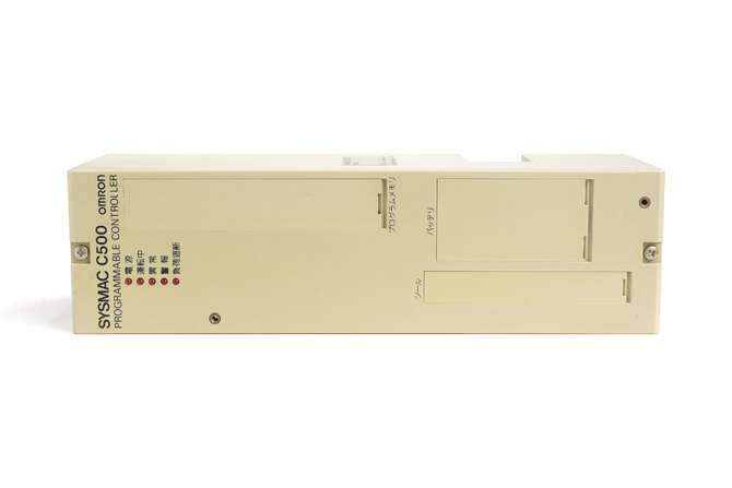 オムロン CPUユニット C500-CPU11 (86年4月製)