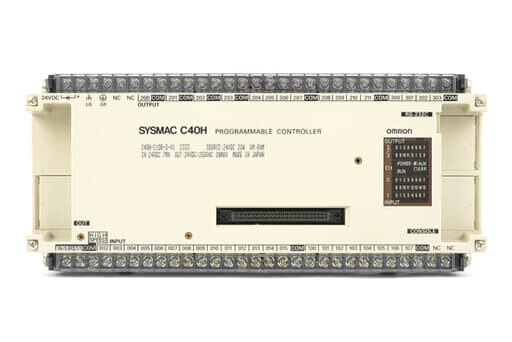 オムロン プログラマブルコントローラ C40H-C1DR-D-V1 (93年3月製)