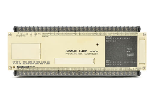 オムロン プログラマブルコントローラ C40P-CDR-A (88年10月製)