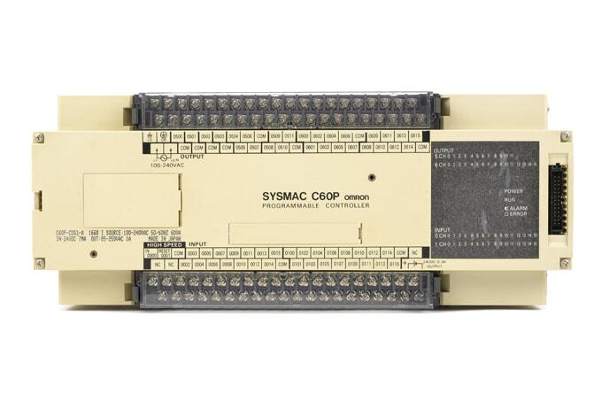 オムロン プログラマブルコントローラ C60P-CDS1-A (88年6月製)