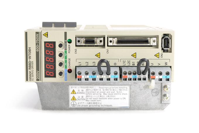 オムロン ACサーボドライバ R88D-WT08H (ソフトVer003C)