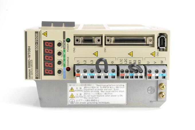 オムロン ACサーボドライバ R88D-WT08H (ソフトVer003A)