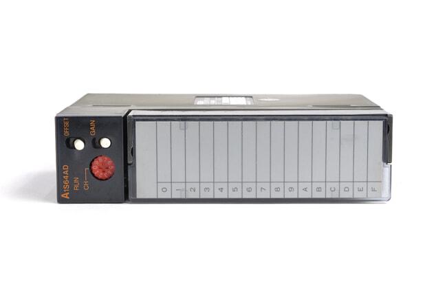 三菱 アナログ-ディジタル変換ユニット A1S64AD (99年8月製・FC)