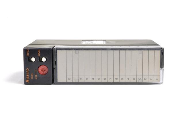 三菱 アナログ-ディジタル変換ユニット A1S64AD (95年4月製・BA)