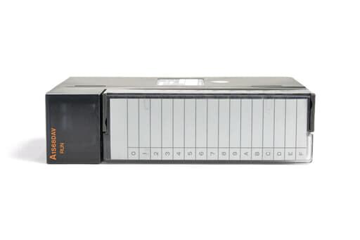 三菱 デジタル-アナログ変換ユニット A1S68DAV (98年3月製・CD)