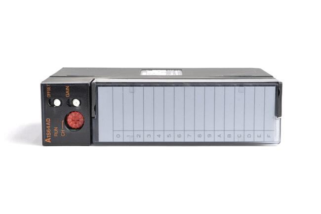 三菱 アナログ-ディジタル変換ユニット A1S64AD (04年11月製・FC)