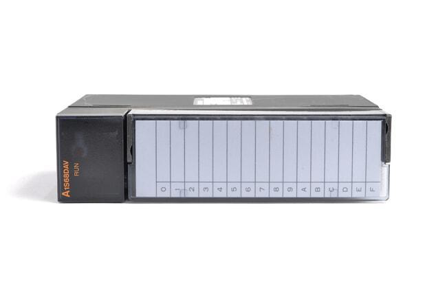 三菱 デジタル-アナログ変換ユニット A1S68DAV (06年8月製・GE)