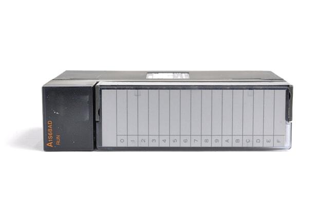 三菱 アナログ-ディジタル変換ユニット A1S68AD (03年1月製・NJ)