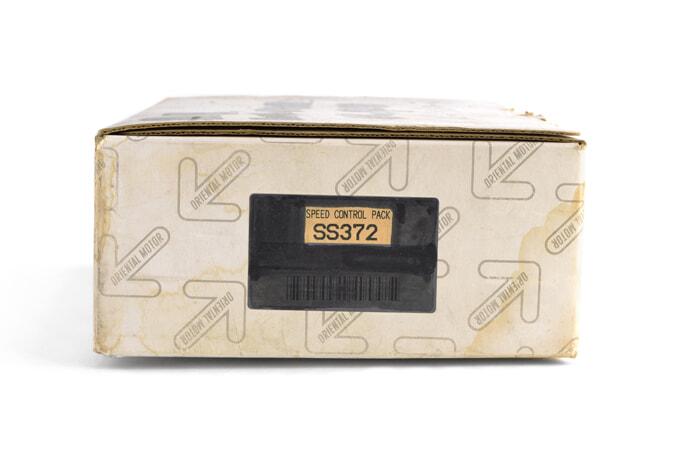 オリエンタルモーター スピードコントロールパック SS372