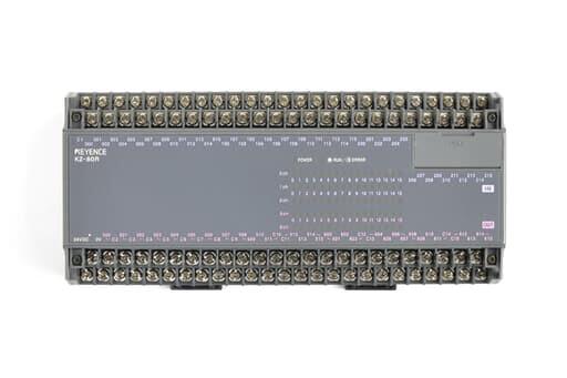 キーエンス プログラマブルコントローラ KZ-80R (欠けあり)
