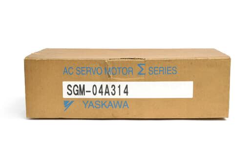 安川電機 ACサーボモータ SGM-04A314 (97年3月製)