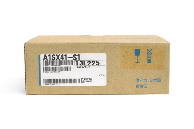 三菱 DC入力ユニット(プラスコモンタイプ) A1SX41-S1 (13年7月製)