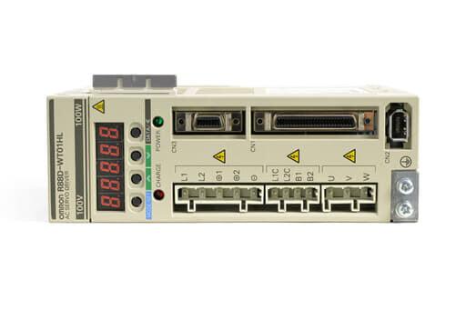 オムロン ACサーボドライバ R88D-WT01HL (ソフトVer003F)