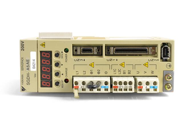 安川電機 ACサーボパック SGDH-A5AE (ソフトVer0014)