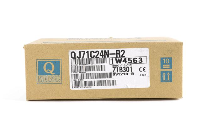 三菱 シリアルコミュニケーションユニット QJ71C24N-R2 (07年12月製)