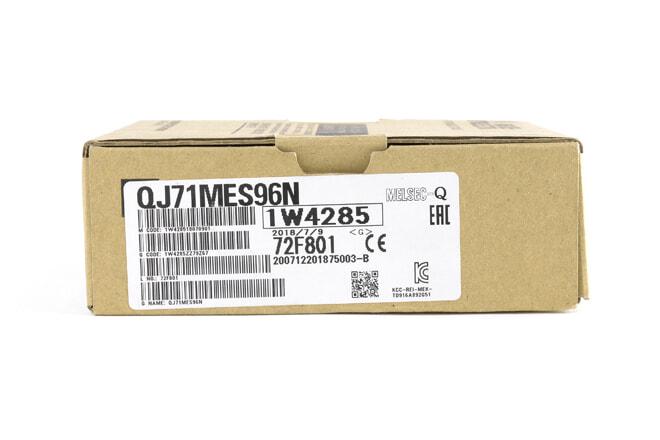 三菱 MESインタフェースユニット QJ71MES96N (18年7月製)