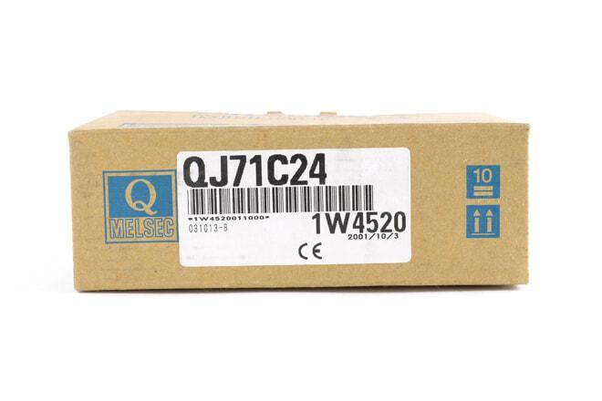 三菱 シリアルコミュニケーションユニット QJ71C24 (01年10月製)