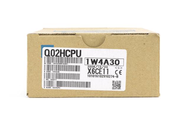 三菱 ハイパフォーマンスモデルQCPU Q02HCPU (08年10月製)