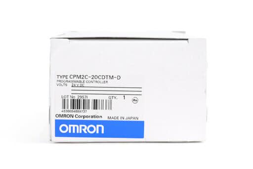 オムロン CPUユニット CPM2C-20CDTM-D (07年5月製)