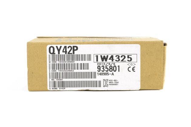 三菱 トランジスタ出力ユニット(シンクタイプ) QY42P (12年9月製)