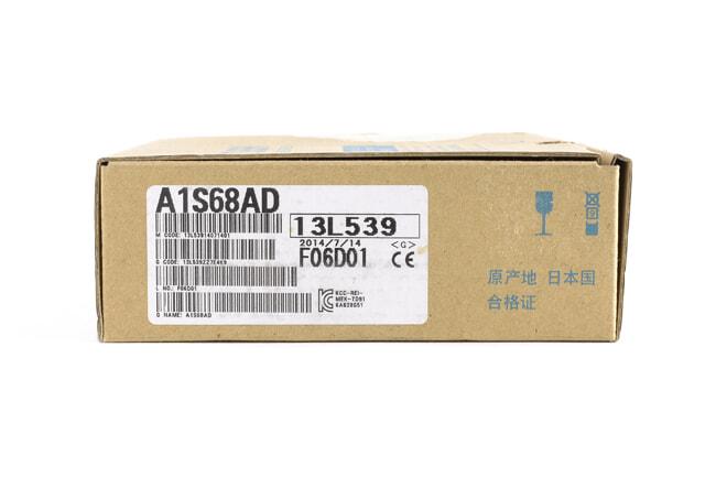 三菱 アナログ-ディジタル変換ユニット A1S68AD (14年7月製・VM)