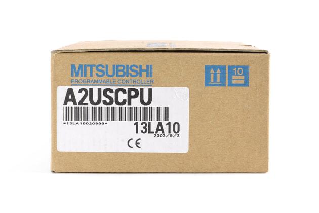三菱 CPUユニット A2USCPU (02年8月製・RH)
