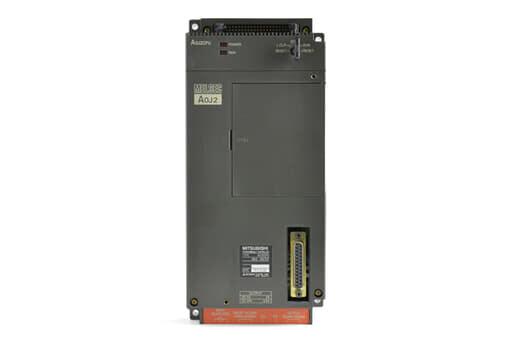 三菱 CPUユニット A0J2CPU (89年2月製・GK・欠け、ヒビあり)